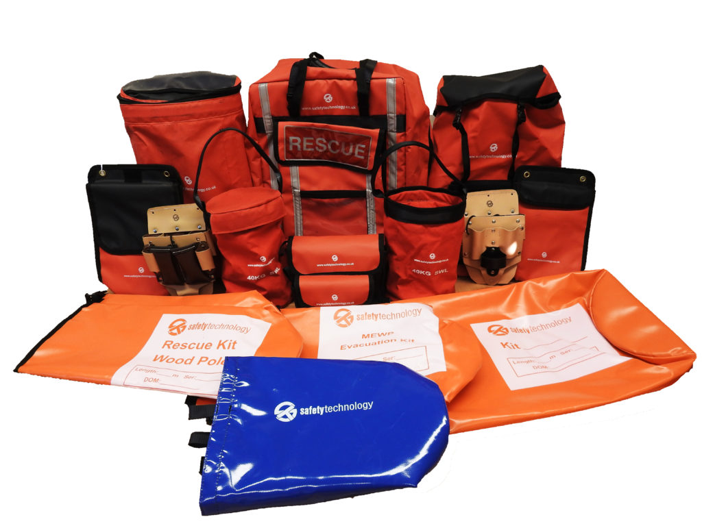 safety kits and bags