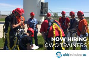 We're hiring GWO trainers